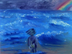 He Fought the Wind, Clomb the Waves, and Went on Towards the Rainbow