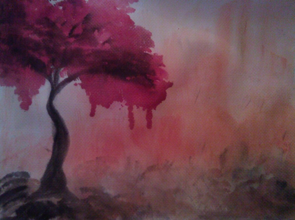 Red and black tree